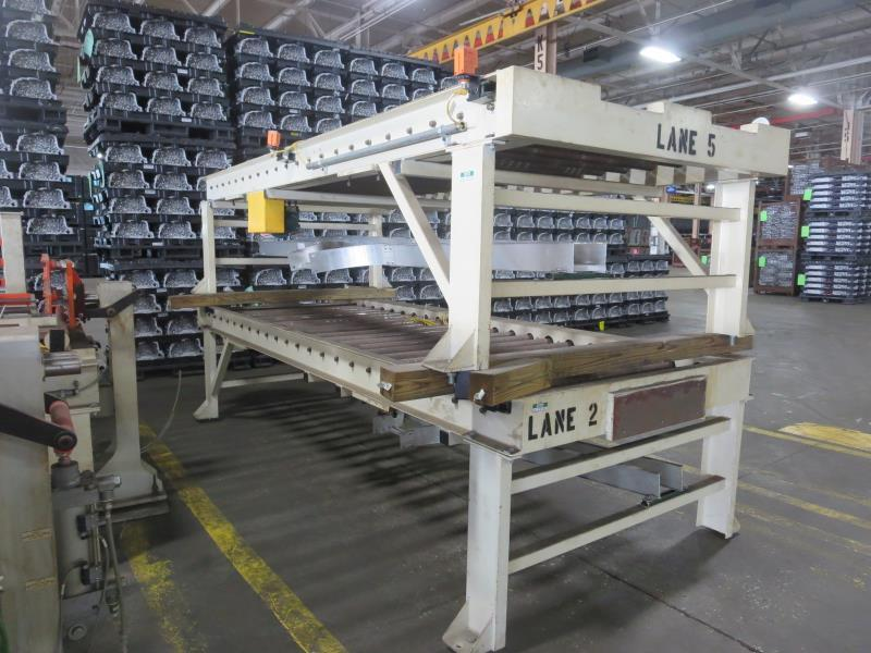 "1 Section Power Powered Conveyor 11.5 feet 48"" roller"