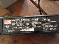 new condition 12 v battery and chargerm