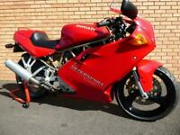 DUCATI 600 SS SUPERSPORT - recomissioned, fully serviced, Belts, Chain, Tyres