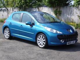 Peugeot 207 1.6HDI GT, 70 000 Miles, FSH, 5 Door Hatchback, 2006, 1 Years Mot