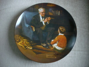 norman rockwell plates  (3)