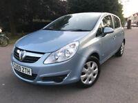 Vauxhall Corsa 1.2I 16V CLUB A/C (blue) 2009