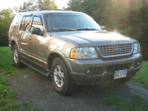 2002 Ford Explorer limited SUV, Crossover      Parts or Repair