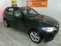 2014,BMW X5 3.0TD ( 258bhp auto xDrive30d M Sport***BUY FOR ONLY £120 PER WEEK**