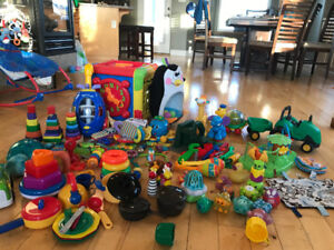 Lots of baby toddler toys