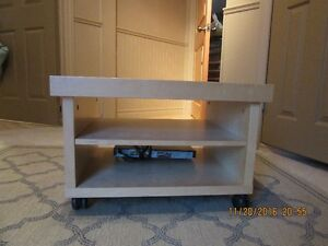 TV stand with casters Peterborough Peterborough Area image 1