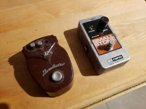 danelectro flanger et EHX Small Stone phaser