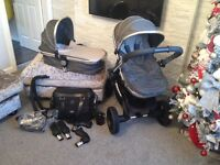 Icandy Peach 3 Pushchair Stroller With Extras