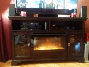 Dimplex Fireplace and entertainment Centre moving sale