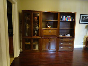 display cabinets and book case