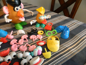 Fisher Price camera + Mr. Potato head accessories SOLD PPU