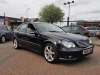 MERCEDES BENZ C CLASS C200 KOMPRESSOR SPORT EDITION AUTO/TIPTRONIC BLACK