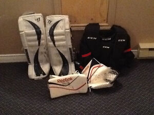 Ice Hockey Goalie Gear, excellent condition!!