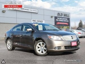 2011 Buick LaCrosse 1 Owner, Accident Free, Buick Luxury and muc