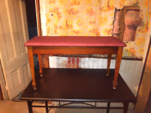 Piano bench seat