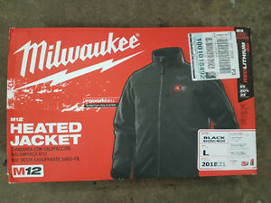 Milwaukee M12 Heated Jacket (L) New 201B21