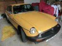 MG/ MGF B GT 1.8 coupe 1976 recent full body restoration runs great Shrewsbury