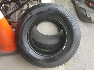 Michelin Tires. Very Good tread. P225 70 R16