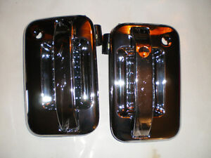 CHROME  04-08 FORD Pickup FRONT OUTER DOOR HANDLE SET London Ontario image 2