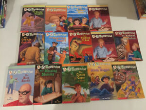 A to Z Mysteries SoftCover book lot of 14
