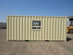 High Security Mobile Office Container Kitchener / Waterloo Kitchener Area image 1