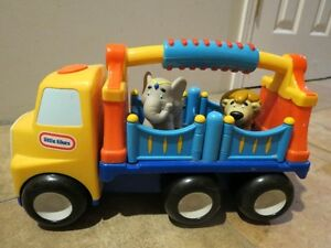Little Tykes truck with 2 animals