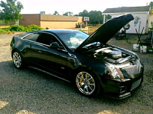 2012 Cadillac CtsV Coupe Black Diamond edition