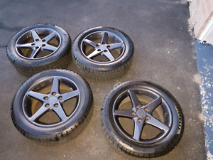 """16"""" rims and tires"""