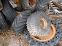 tires and rims for a go cart or tailer project