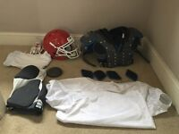 American football Pads/helmet and more