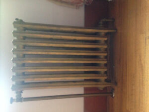 Vintage Cast Iron Hot Water Radiators For Sale