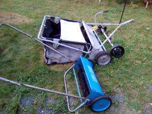 2-LAWNSWEEPERS ONE PUSH+ONE PULL SWEEPER NEED TLC 100.00