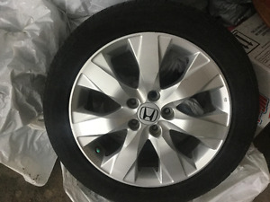 Mag Honda + pneus d'été Toyo