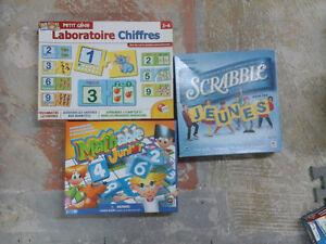 Divers jeux de société