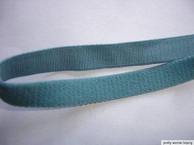 10m Gummiband 0,24€/m graugrün Trägerband 10mm breit  EE6