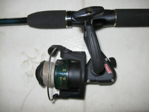 Fishing rod & reel - Canne a peche et moulinet