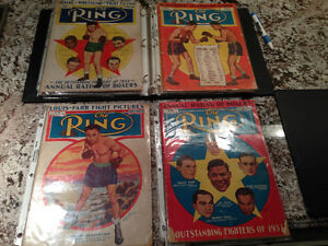 VINTAGE BOXING MAGAZINES - THE RING - PARKER PICKERS