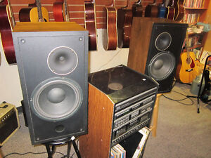 Set Of 2 SOUND DYNAMICS Speakers For Sale