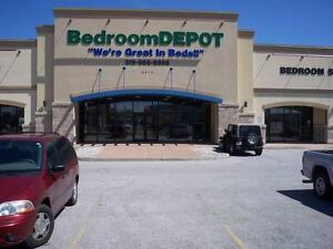 BEDROOM DEPOT MATTRESS SALE, PILLOWTOP, EUROTOP & TIGHT TOP Windsor Region Ontario image 8