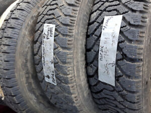 185/65R14, 185/70R14 205/75R14 215/70R14 winter tires