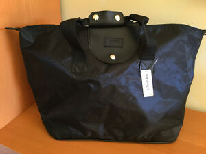 Large Black Roomy Tote Bag - NEW - La Vie en Rose Windsor Region Ontario image 1