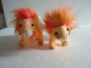 Set of 2 TY Bushy the Lion plush toy collectible Beanie baby NEW London Ontario image 1