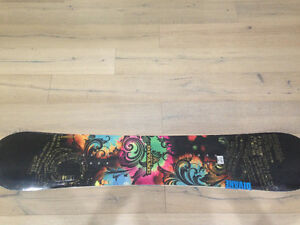Firefly snowboard never used. Still in packaging