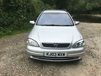 Vauxhall/Opel Astra 2.2i 16v 2003MY Elegance excellent condition throughout