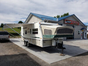 2005 Travel Star 21SB Hybrid Tent Trailer