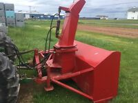 9 FT couture snowblower for sale