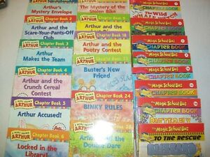 12 Arthur Chapter Books and 8 Magic School Bus Chapter Books St. John's Newfoundland image 1