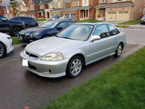 2000 Honda Civic SIR Coupe All OEM with Low K's!!