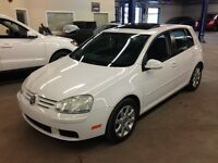 2007 Volkswagen Rabbit 2.5 AUTOMATIC AIR TOIT OUVRANTS BLANC