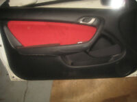 ACURA RSX DC5 K20A TYPE R DOORS WITH RED INNER PANEL JDM DC5 RSX